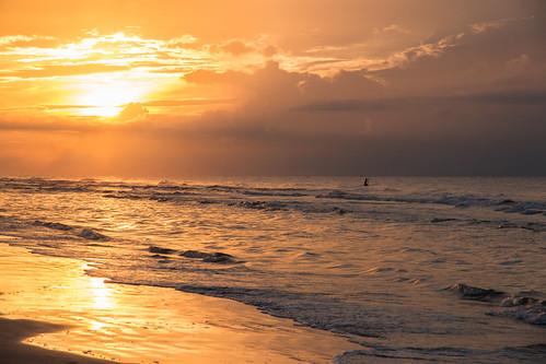 hiltonheadisland southcarolina unitedstates sunrise beach paddleboard canon canon70d canon1585