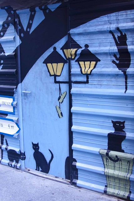 Graffitis en el barrio del Carmen