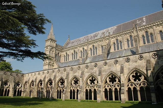 Claustro de la Catedral de Salisbury - Inglaterra