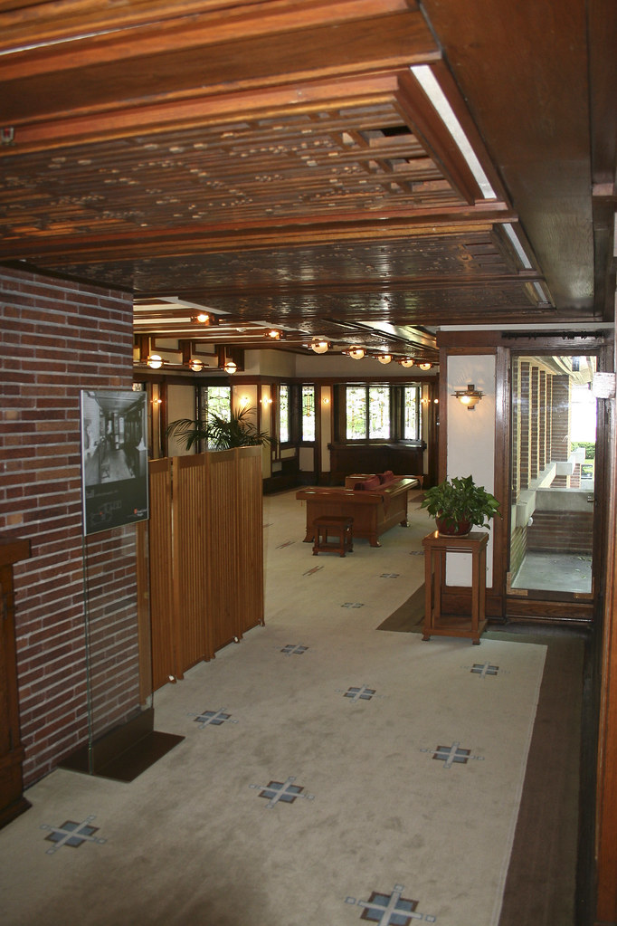 Frank Lloyd Wright Robie House Frank Lloyd Wright Robi Flickr