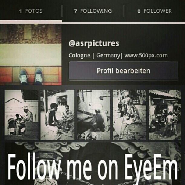 I am on EyeEm now! Far better than Instagram can be  EyeEm