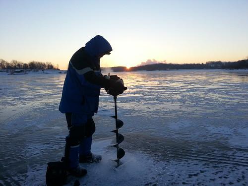 cold sunrise iowa palo icefishing marcum baffin strikemaster pleasantcreek flickrandroidapp:filter=none