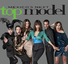 Tyra Banks & Jo Lance Mexico's Next Top Model