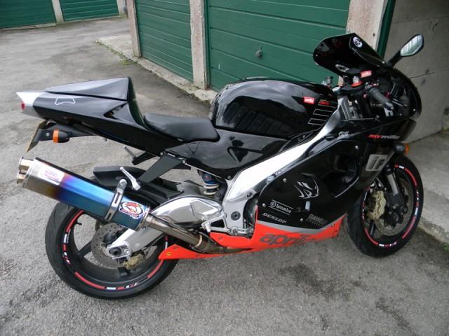 MTC Motorbike Exhausts Aprilia RSV Mille 98 - 03