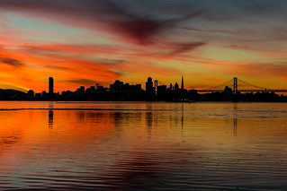 San Francisco in Red | by Clint Sharp