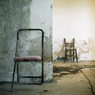 Two Chairs. Pachia Ammos (Παχειά Άμμος, Κρήτη) Crete.