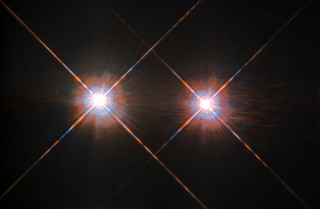 Best image of Alpha Centauri A and B | by NASA Hubble