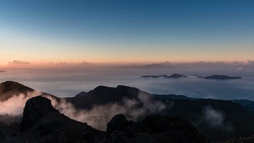 ladominique cratères sigma1750mmf28 fumerolles lessaintes france antilles caraïbes caribbean guadeloupe volcan soufrière basseterre sunrise iles