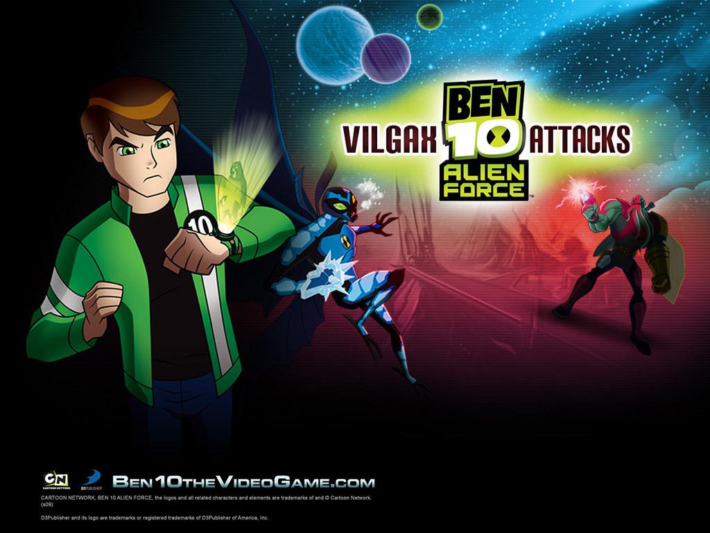 Ben 10 Alien Force Vilgax Attacks Wallpaper 1 1600x1200 Flickr