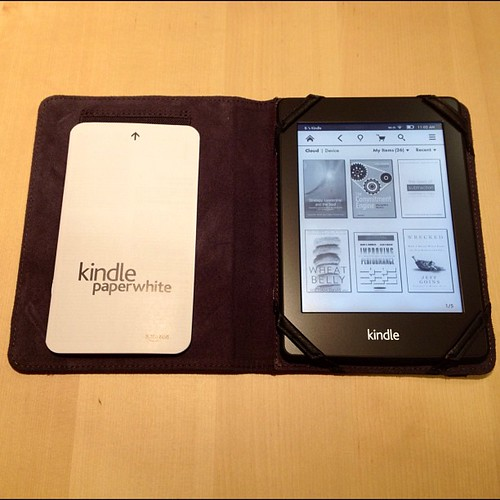 Kindle Paperwhite in Marware Atlas cover. | by CoCreatr