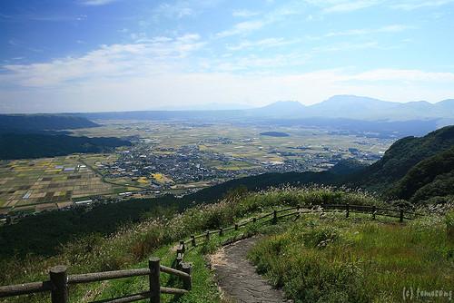japan aso kumamoto 熊本 阿蘇 かぶと岩展望所