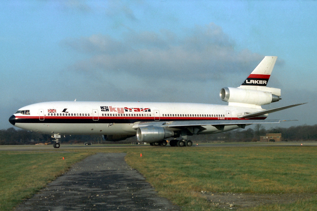 G-BGXE Douglas DC-10-30 Laker