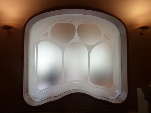 Interior Window, Casa Batllo, Barcelona