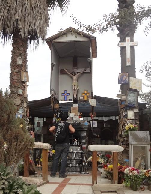 Resultado de imagen para cristo de la hacienda machali