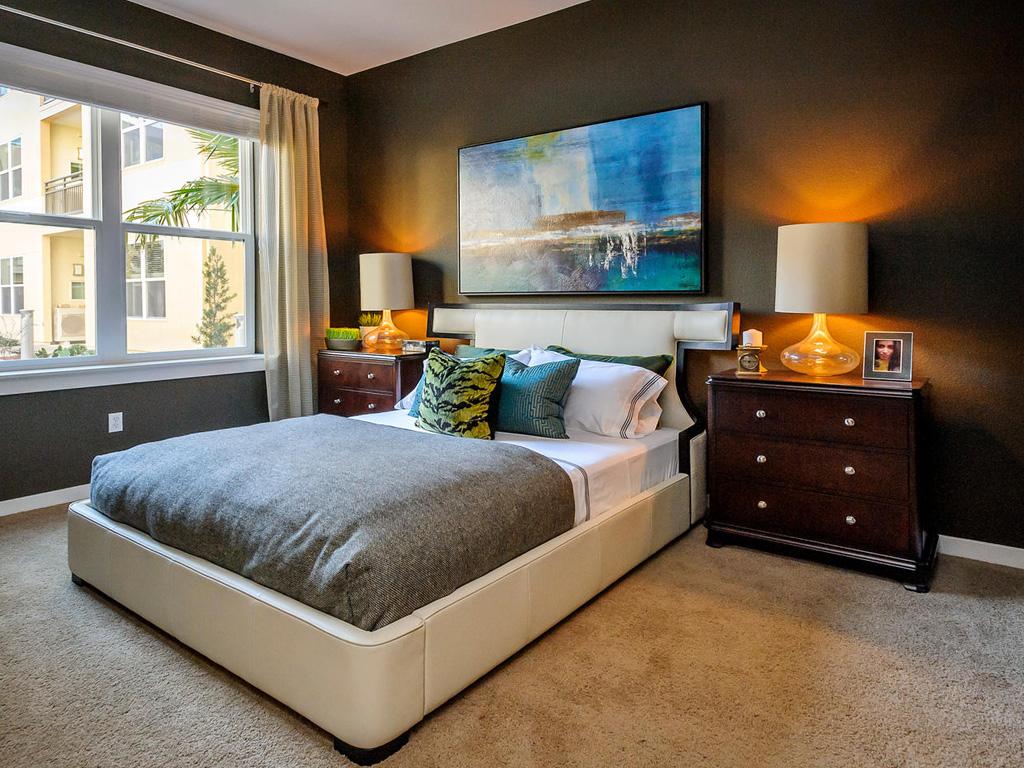 Farallon • Plan F: Master Bedroom 2
