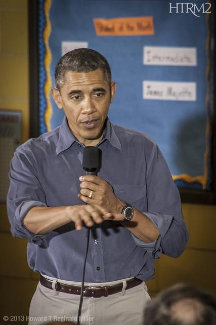 President Barack Obama, 2013