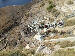 Greece - Santorini - Cable Car