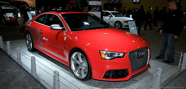 2013 Washington Auto Show - Lower Concourse - Audi 12