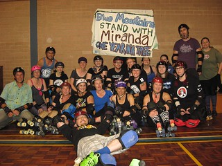 blue mountains roller derby | by observertree