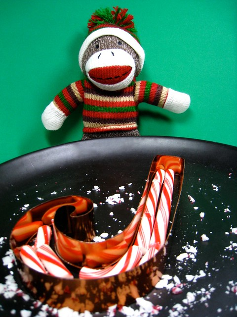 thought for the day: did you ever notice that a candy cane is in the shape of a letter J ??
