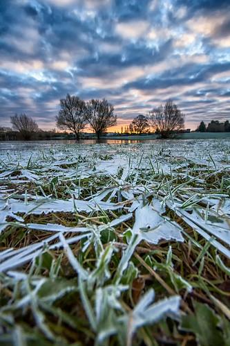 winter cold ice sunrise flood meadow tewkesbury brrrrrrr tewkesburyabbey
