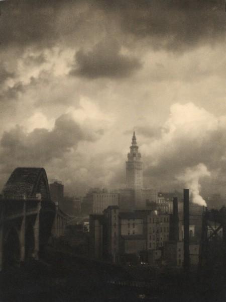 Bourke-White, Margaret (1904-1971) - 1928 Terminal Tower, Cleveland