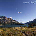 Middle Waterton Lake with Vimy Peak