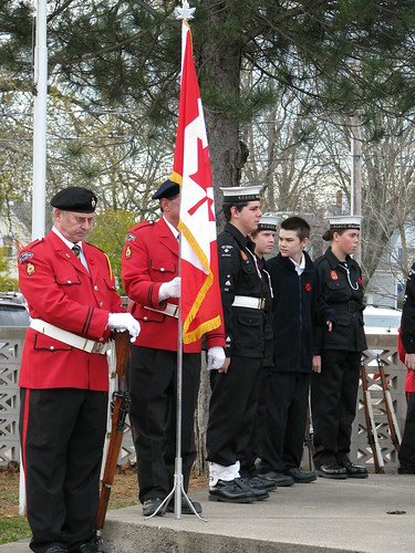 Honour guard and cadets | by LKM Federal Liberals