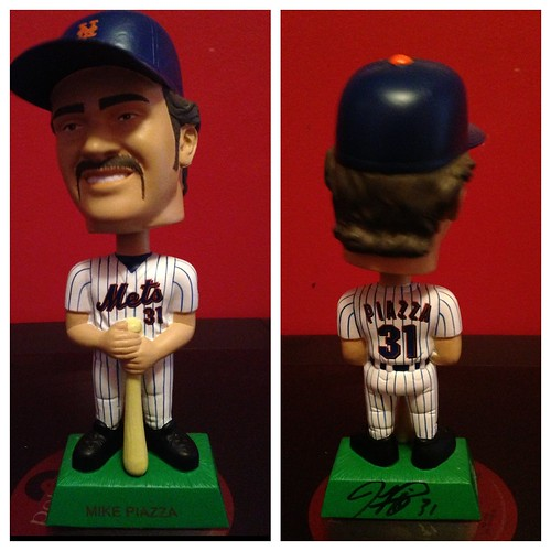 Autographed Piazza bobblehead | by Julie Rubes