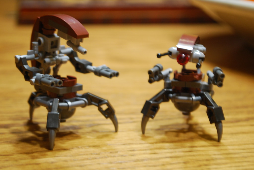 Lego Star Wars Custom Droideka Ep2 Destroyer Droid Flickr