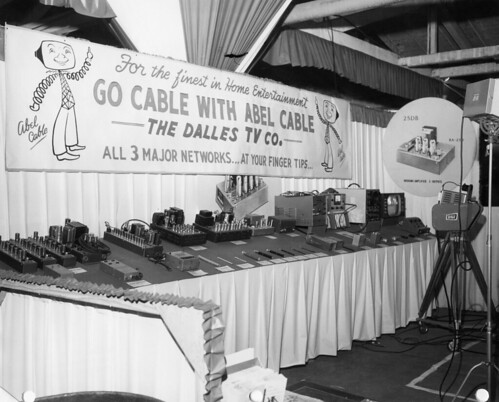 Dalles TV Co home show booth, 1958 | by INTX2015