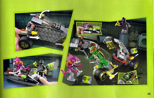 "LEGO Teenage Mutant Ninja Turtles :: ""Stealth Shell in Pursuit"" ; manual ii (( 2013 )) | by tOkKa"