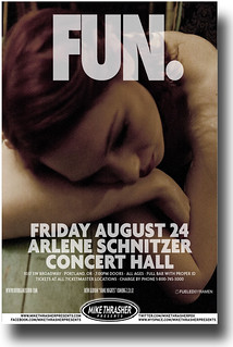 Fun Poster – Concert Flyer 11 x 17 Some Nights Tour