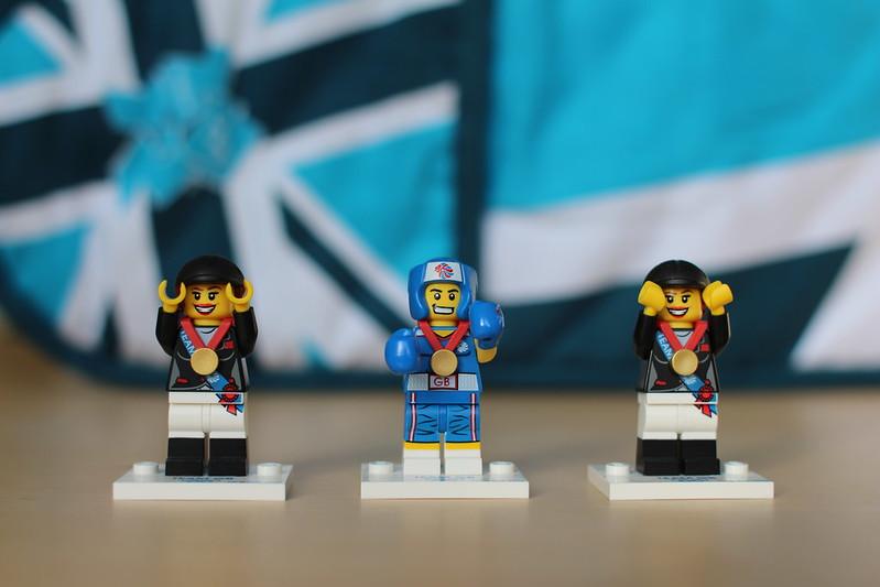 Team GB Lego Minifigures