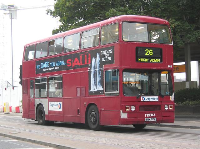 Stagecoach Merseyside 10612 (NUW612Y)