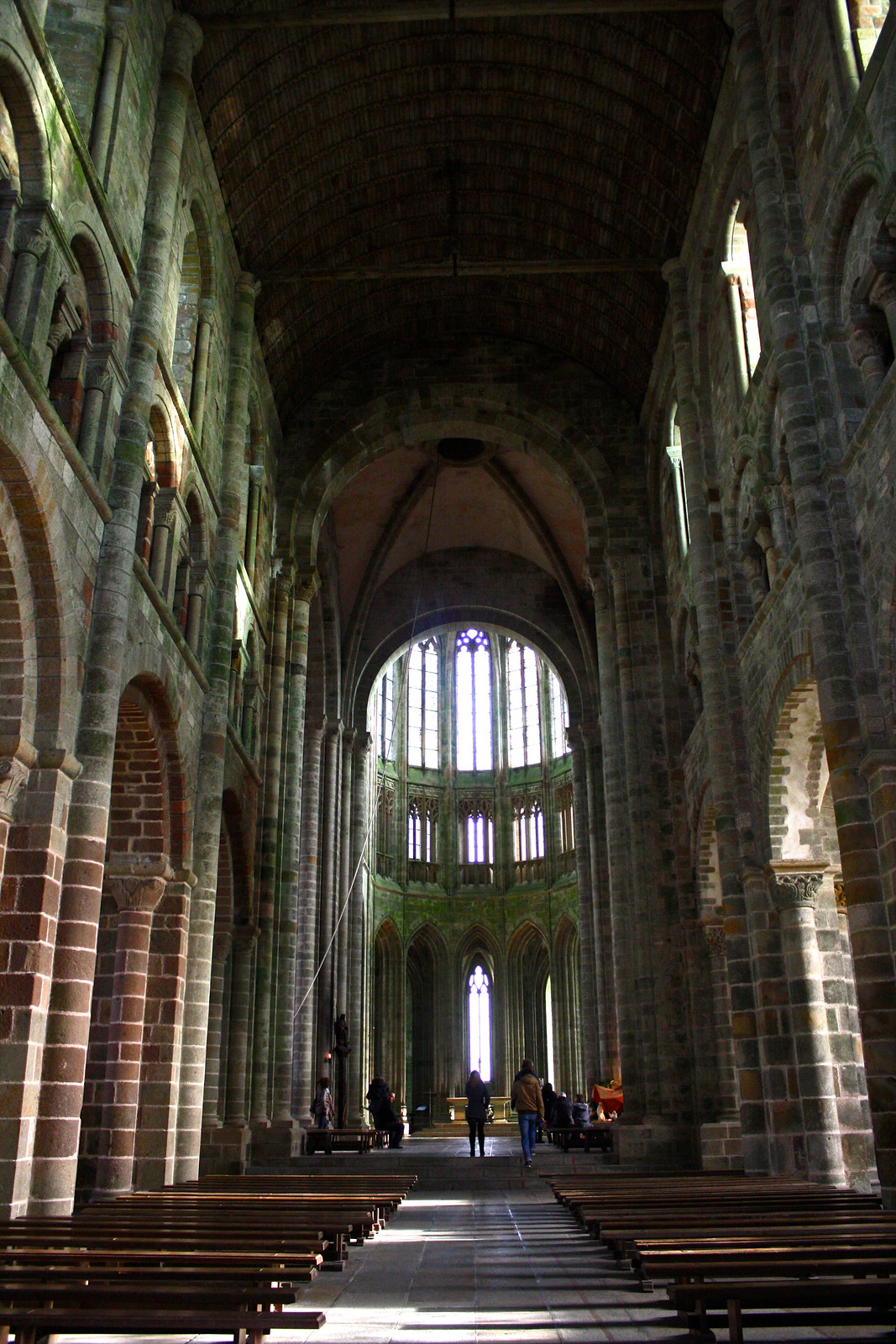 Abbey of Mont-Saint-Michel, France