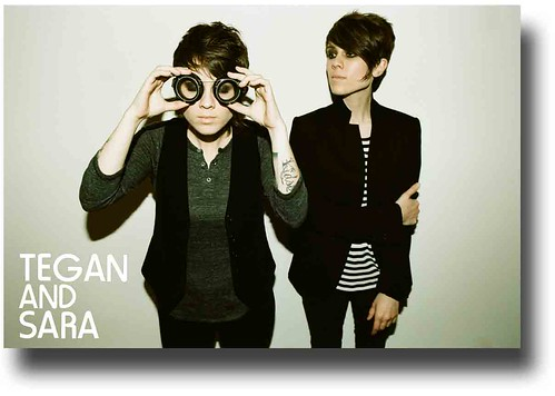 Tegan and Sara Poster – Promo Goggles