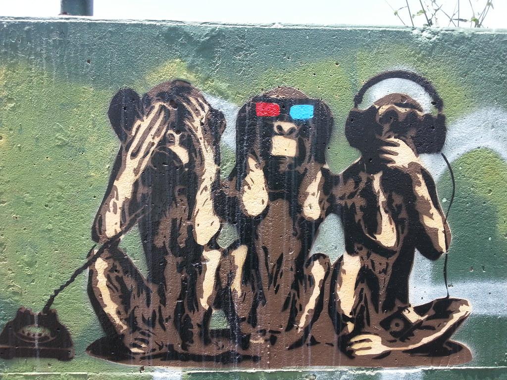 3 Monkeys See No Evil Hear No Evil Speak No Evil Campe Flickr