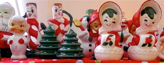Vintage Christmas S&P Shakers | by Lori L. Stalteri