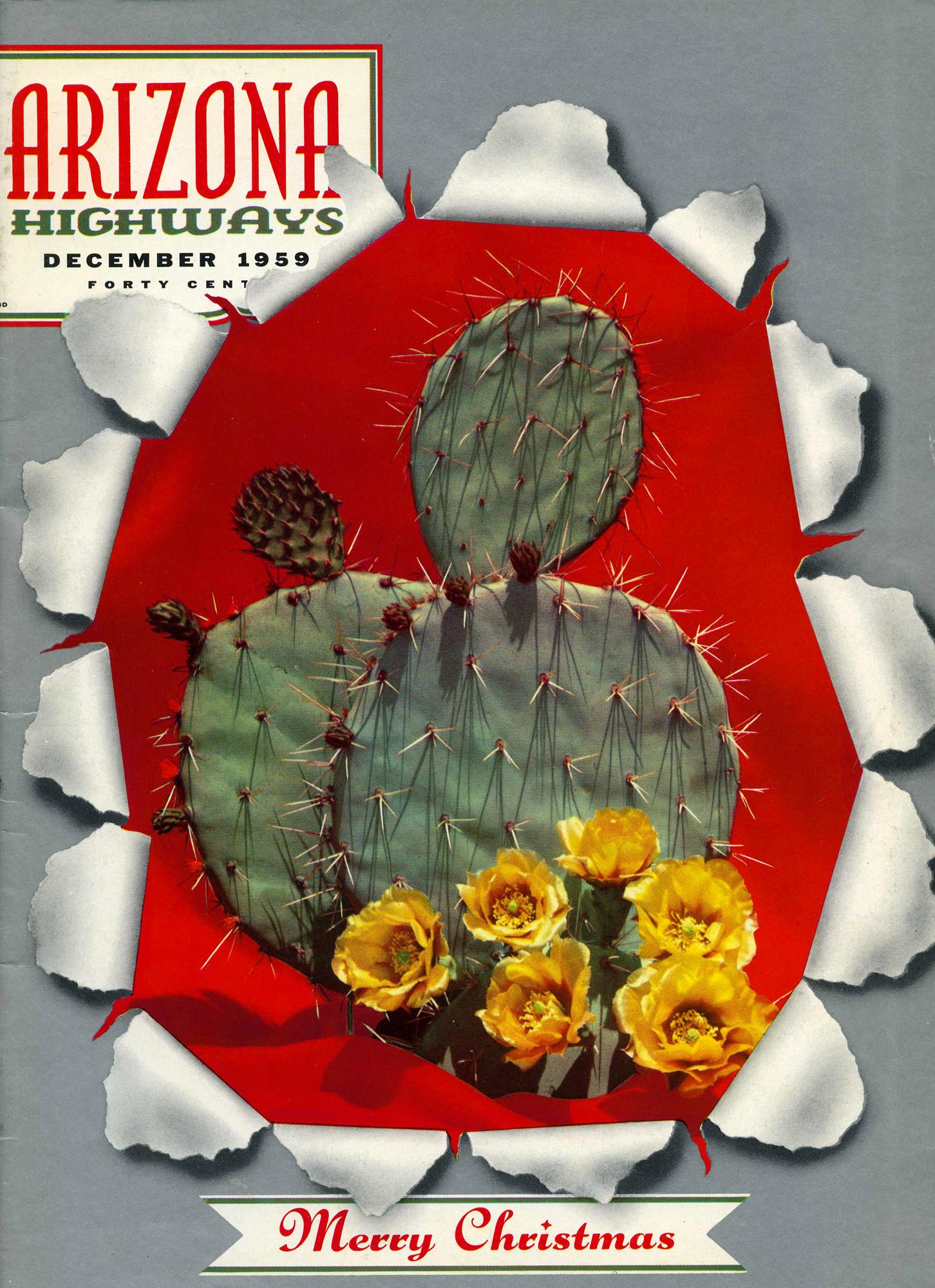 Arizona Highways - published December 1959