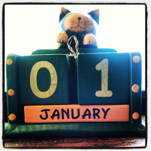 1 January 2013. Bring on the cats... | by Tama Leaver