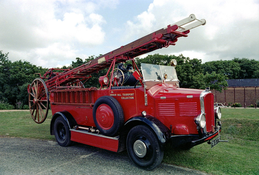 Ex Chester City 1934 Dennis Ace Pump Reg No FM 8777 on IOW
