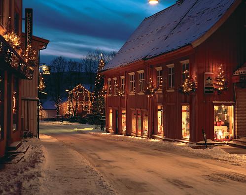 Jul i Storgata, Drøbak