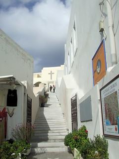 Greece - Santorini - Fira Steps