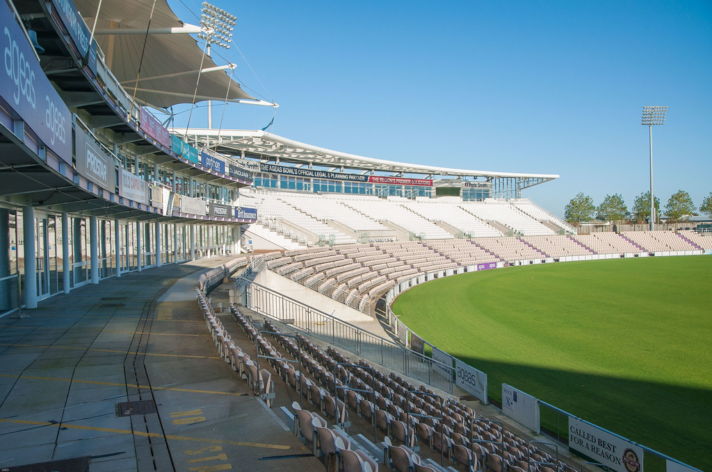 Rose Bowl Cricket Ground The Beautiful Architectural Lines