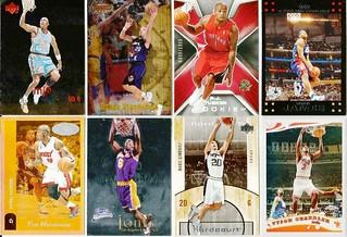 #2-BASKETBALL SPORTS CARD LOT