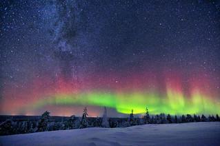 Aurora & Milky Way | by Eddie Yip