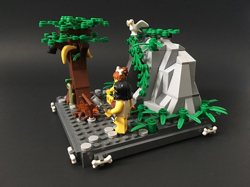 Stone Age life.