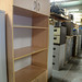 Tall beech storage unit €100