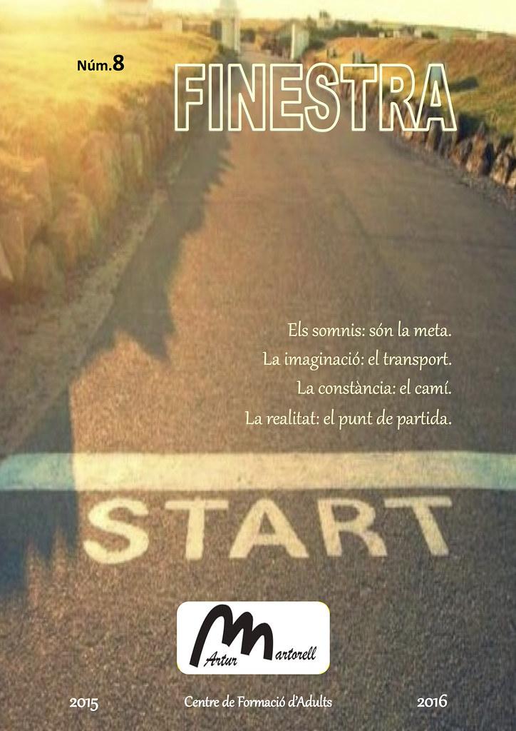 Revista La Finestra 8 (Portada)